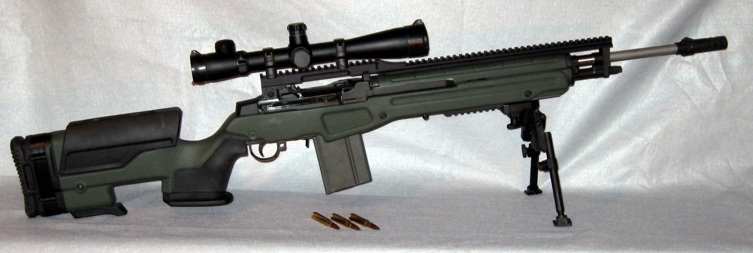 M14 Tactical Gallery M14 Tactical Sniper Rifle