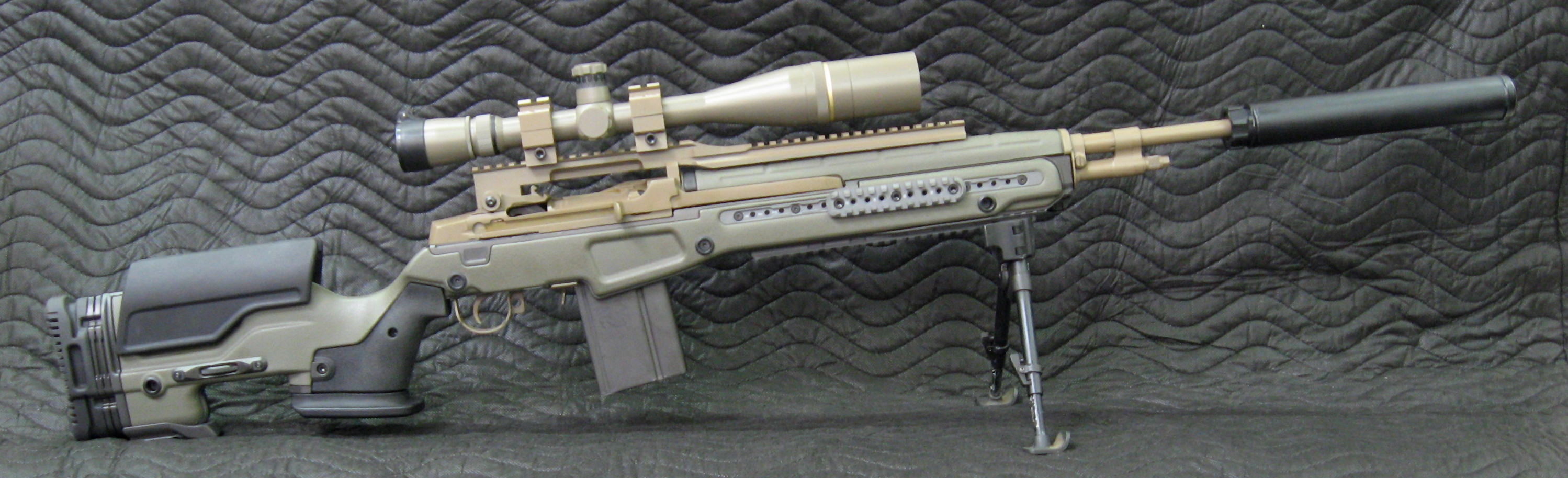 Gruning Precision: tactical rifles, Remington 700, M1A ...